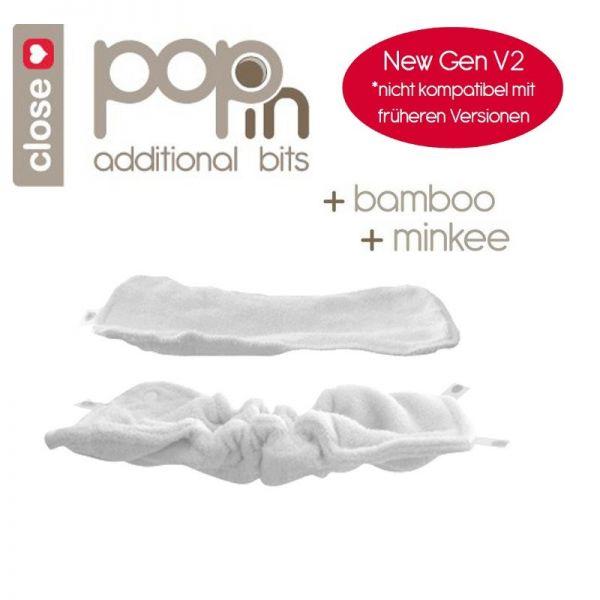 Pop-in Saugkern & Booster V2 - Bambus